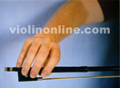 Violin bow hold front